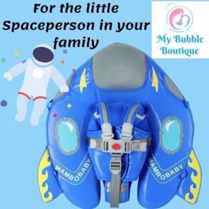Mambobaby Australia Spaceship Chest Float My Baby Bubble Spa My Bubble Boutique baby float toddler float 3 24 months UV Resistance sun shade spaceperson