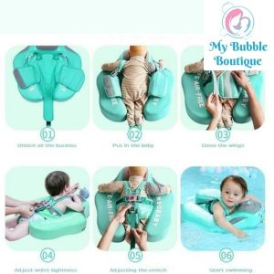 Mambobaby Australia Just Chill Chest Float My Baby Bubble Spa My Bubble Boutique instructions